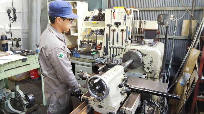 旋盤ねじ切り加工|製作実績|フェニックス工業
